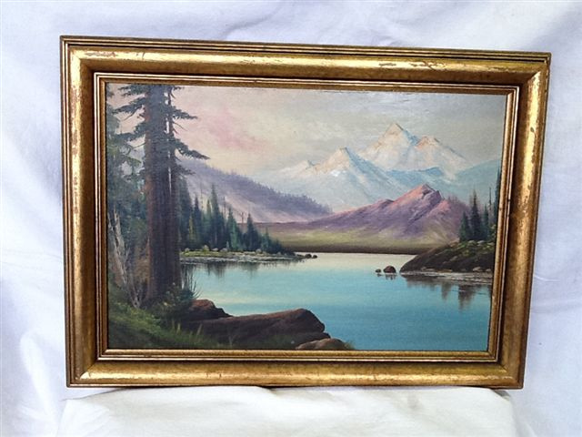 Landscape Painting Oil on Canvass     $ 75.00